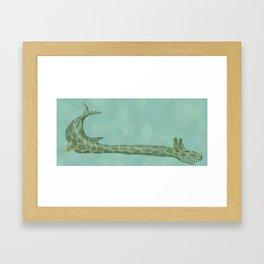 giraffeshark Framed Art Print