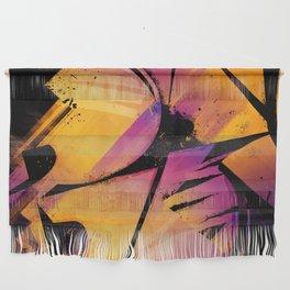 B--Abstract Wall Hanging
