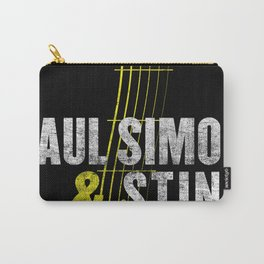 PAUL SIMON ON STAGE TOGETHER TOUR DATES 2019 KAMBOJA Carry-All Pouch