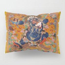 Buddhist Diety Mahakala 2 Pillow Sham