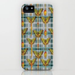 DINNER_WITH_BUTTERFLIES iPhone Case