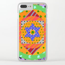 Fruit Machine 06 Clear iPhone Case