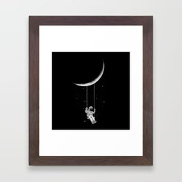 Moon Swing Framed Art Print