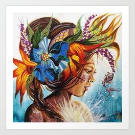 Demoiselle Art Print