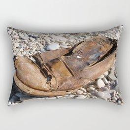 Old Shoes Rectangular Pillow