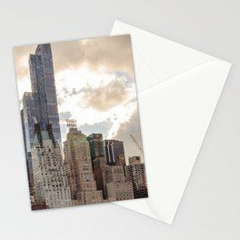 Manhattan View from Central Park Stationery Cards