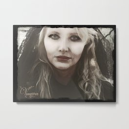 "VAMPLIFIED ""Venom and Lace"" Metal Print"