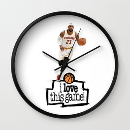 Lebron Wall Clock