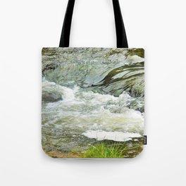 Stream, Hunua Falls, NZ Tote Bag
