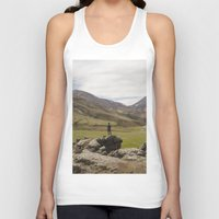 iceland Tank Tops featuring ICELAND I by Gerard Puigmal