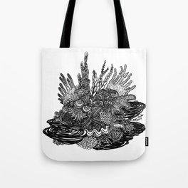 Hidden Cuttlefish Tote Bag