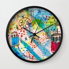 Lisbon in Portgul Wall Clock