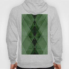 Geometric emerald stone crystal digital illustration Hoody