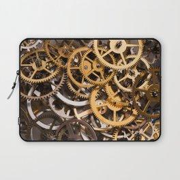Cogwheels background Laptop Sleeve