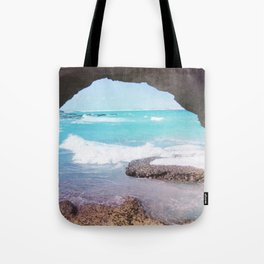 Sea Cave Tote Bag