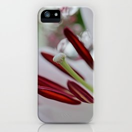 Lily Blush iPhone Case