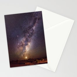 Rising Venus and the Milky Way Down Under Stationery Cards