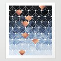 Copper Diamonds by elisabethfredriksson