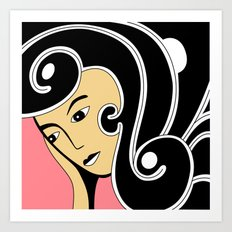 Susy Art Print