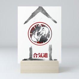 Aikido Kanji Art -  Kote Gaeshi Mini Art Print