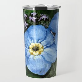 Do not forget me - azorean flora Travel Mug