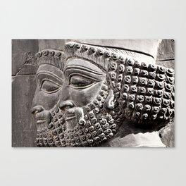 Persian Guards Canvas Print