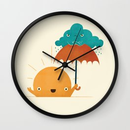 Lighten Up! Wall Clock