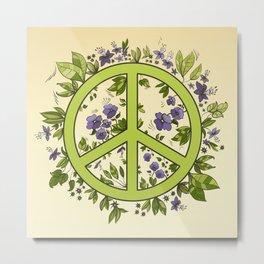 Flower of Pacific Metal Print