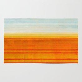Yellowstone Orange Rug
