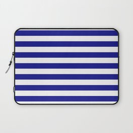 navy stripes Laptop Sleeve