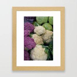 Cabbage Framed Art Print