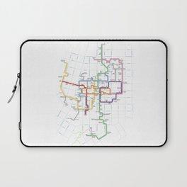 Minneapolis Skyway Map Laptop Sleeve