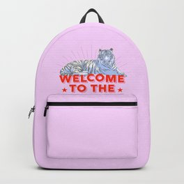 welcome to the jungle - retro tiger Backpack