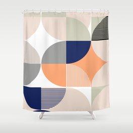 Geometrica 4 Shower Curtain