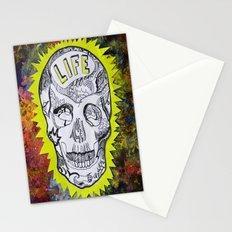 NEON SKULL Stationery Cards