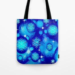 FROSTY BLUE Tote Bag