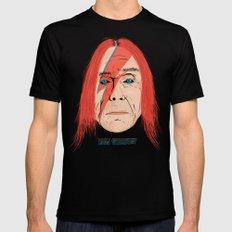 Iggy Stardust Mens Fitted Tee MEDIUM Black
