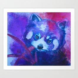 Baby Red Panda Art Print
