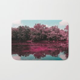 Monocacy River Reflections Bath Mat