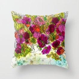 Dog-Rose. Autumn. Throw Pillow