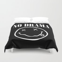 No Drama Duvet Cover