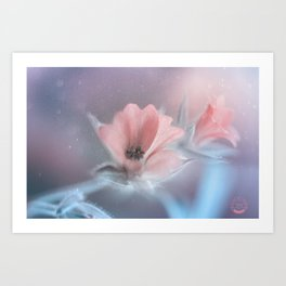 tenderness Art Print