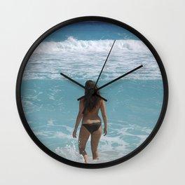Carribean sea 1 Wall Clock