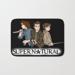 Supernatural Bath Mat