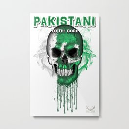 To The Core Collection: Pakistan Metal Print