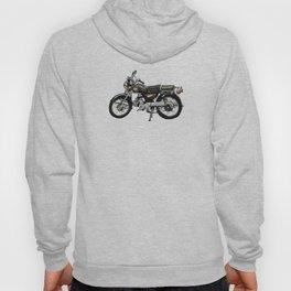 Motorcycle (Red & Black) Hoody