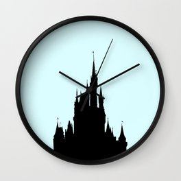 Cinderella Castle Wall Clock