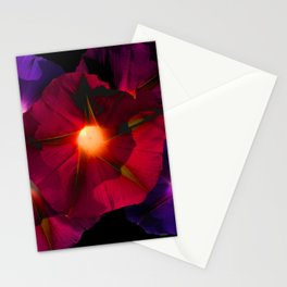 Morning Glory V Stationery Cards