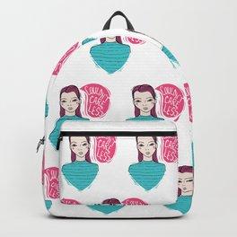 Cynical girl Backpack