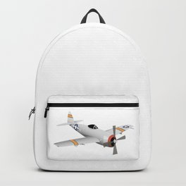 WW2 P-47 Thunderbolt Airplane Backpack